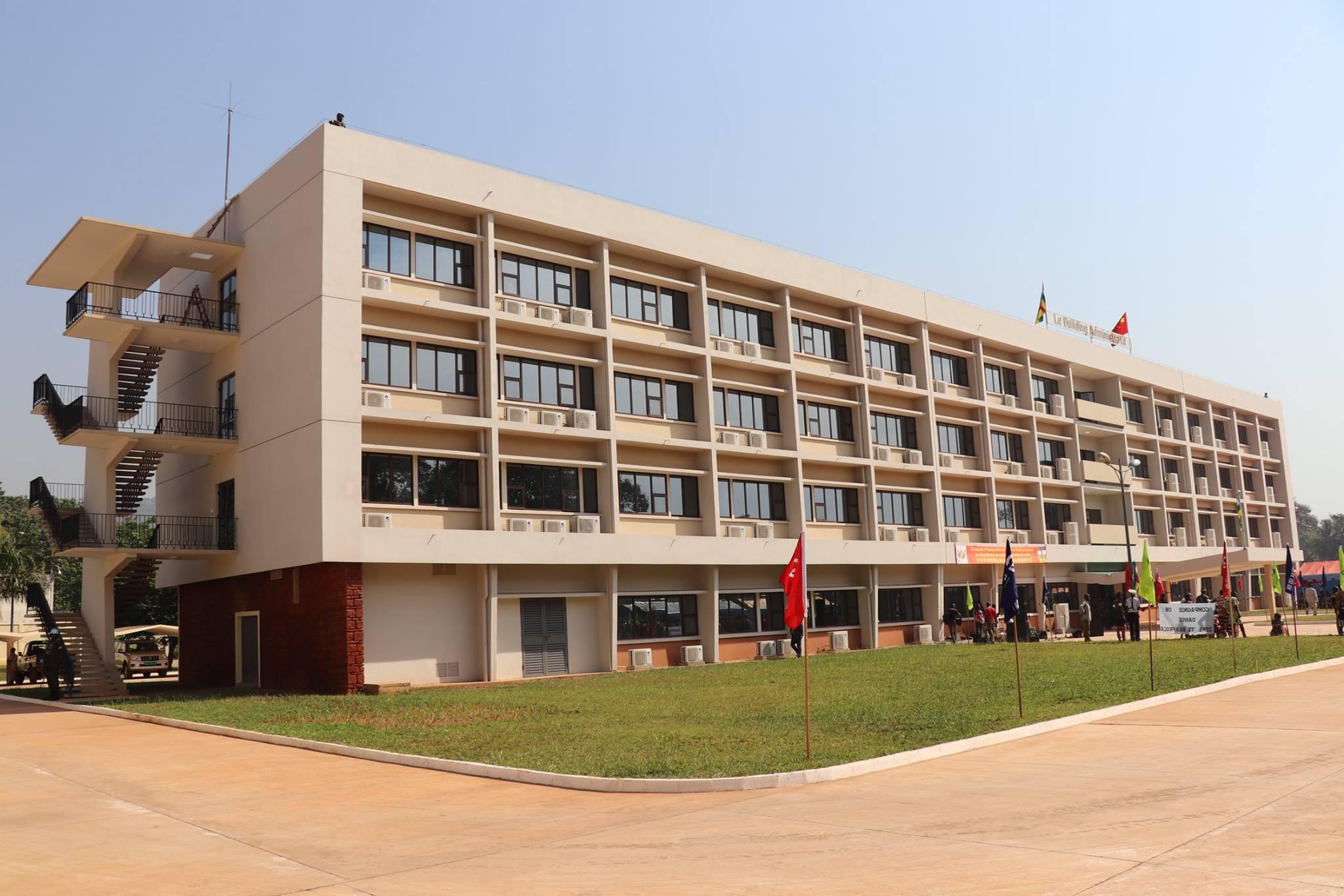 Réhabilitation du Building administratif